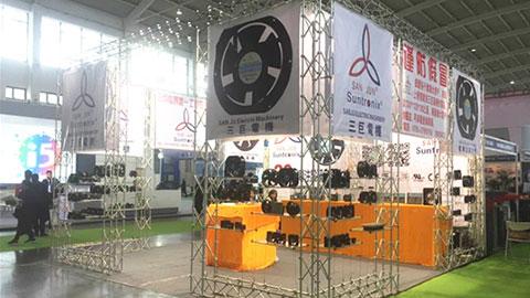 台湾三巨电机在东北国际自动化展大放异彩