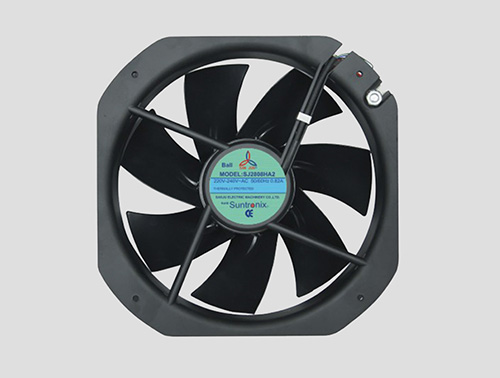 Taiwan San Ju SJ2808HA2-iron fan blade