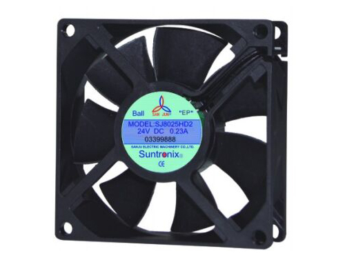 Taiwan's SanJu SJ8025HD2-DC Axial Fan