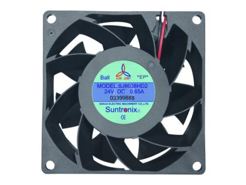 Taiwan's SanJu SJ8038HD2-DC Axial Fan