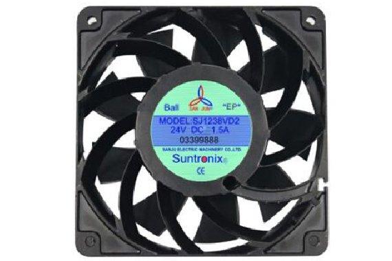 双吸入式高效率电脑散热风扇