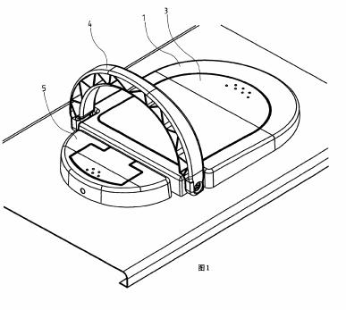 电脑机壳可掀式散热风扇及提把结构